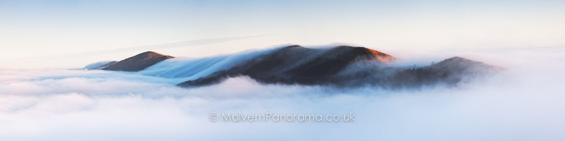 Above the Clouds - Malvern Hills from British Camp