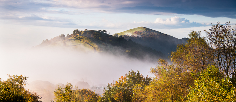 Wyche Cutting in the Clouds - Malver Hills